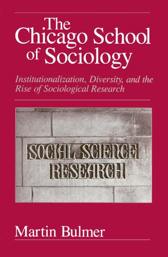 The Chicago School of Sociology - Martin Bulmer