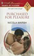 Purchased for Pleasure - Marsh, Nicola