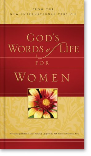 God's Words of Life for Women: from the NIV Women's Devotional Bible Deluxe - Zondervan