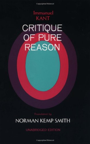 Immanuel Kant's Critique of Pure Reason - Immanuel Kant