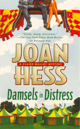 Damsels in Distress (Claire Malloy Mysteries, No. 16) - Joan Hess