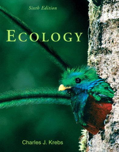 Ecology: The Experimental Analysis of Distribution and Abundance (6th Edition) - Charles J. Krebs