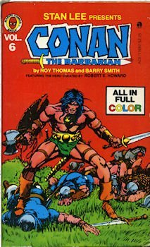 Conan 06/barbar Comic - Robert Howard