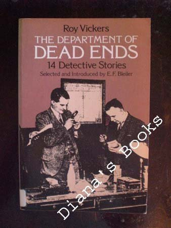 Department of Dead Ends: 14 Detective Stories - Roy Vickers