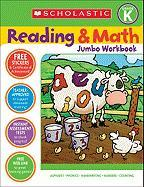 Reading & Math Jumbo Workbook: Grade K