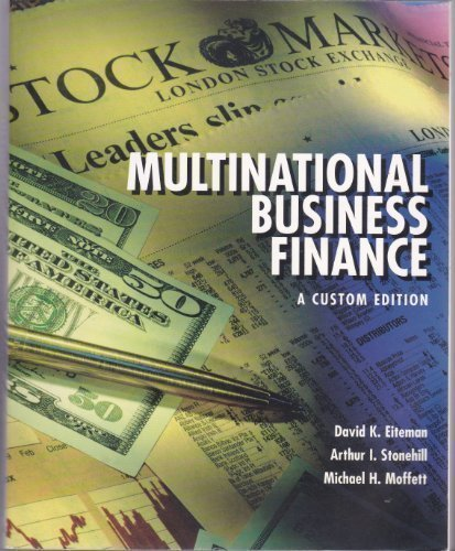 Multinational Business Finance - David K. Eiteman; Arthur I. Stonehill; Michael H. Moffett