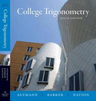 College Trigonometry