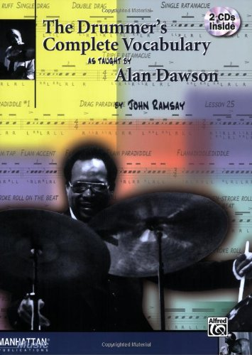 The Drummer's Complete Vocabulary As Taught by Alan Dawson: Book and 2 CDs - John Ramsay