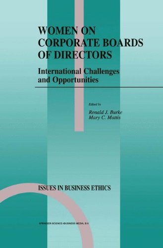 Women on Corporate Boards of Directors: International Challenges and Opportunities (Issues in Business Ethics) - Ronald J. Burke; M.C. Mattis
