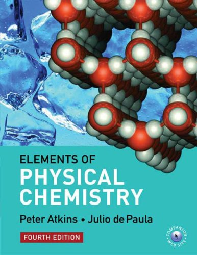 The Elements of Physical Chemistry - Peter Atkins; Julio de Paula