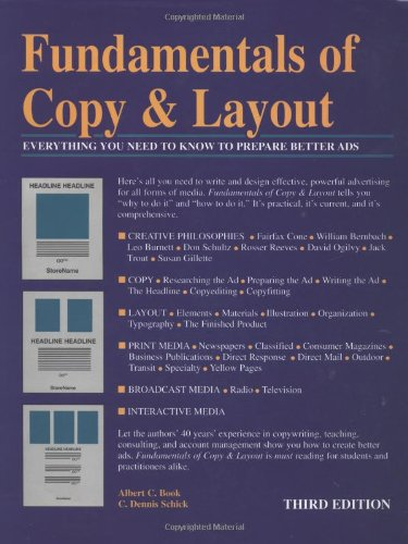 Fundamentals Of Copy  &  Layout - Albert C. Book; C. Dennis Schick
