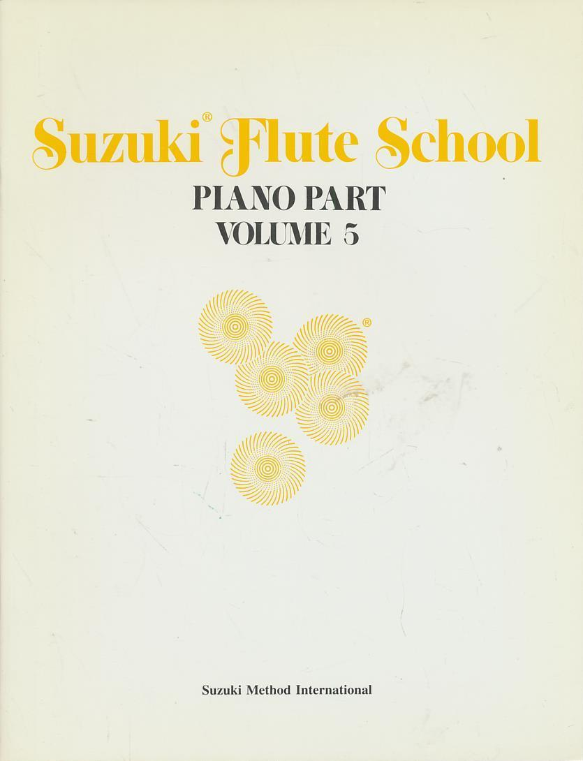 Suzuki Flute School, Piano Accompaniment Volume 5 - Music, Alfred