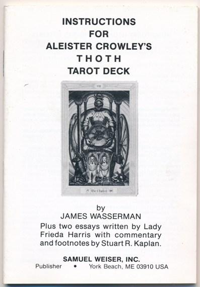 Instruction booklet for Aleister Crowley's
