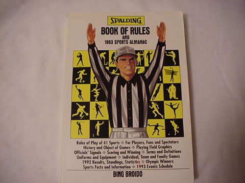 Spalding Book of Rules and 1993 Sports Almanac - Bing Broido