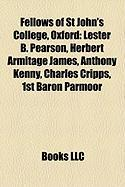 Fellows of St John's College, Oxford: Lester B. Pearson