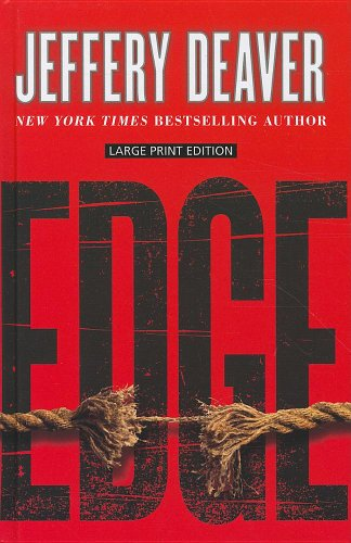 Edge (Thorndike Press Large Print Basic Series) - Jeffery Deaver