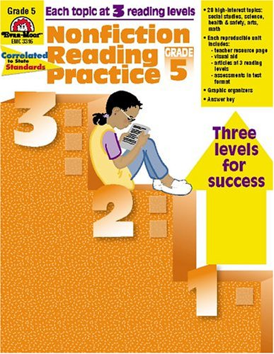 Nonfiction Reading Practice, Grade 5 - Mike Graff