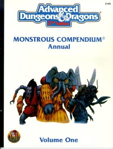 Monstrous Compendium Annual, Vol. 1 (Advanced Dungeons  &  Dragons, 2nd Edition) - David Wise; Jeff Easley; Tony DiTerlizzi