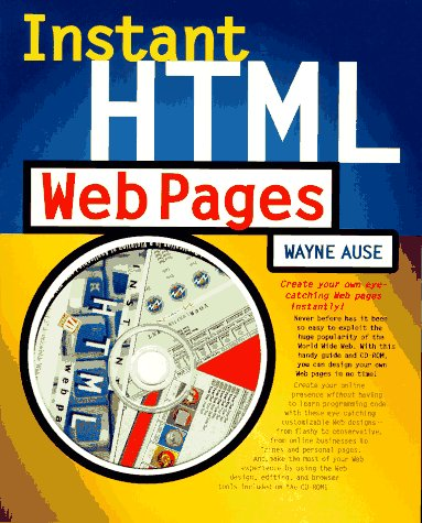 Instant Html Web Pages - Wayne Ause