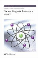 Nuclear Magnetic Resonance: Volume 39