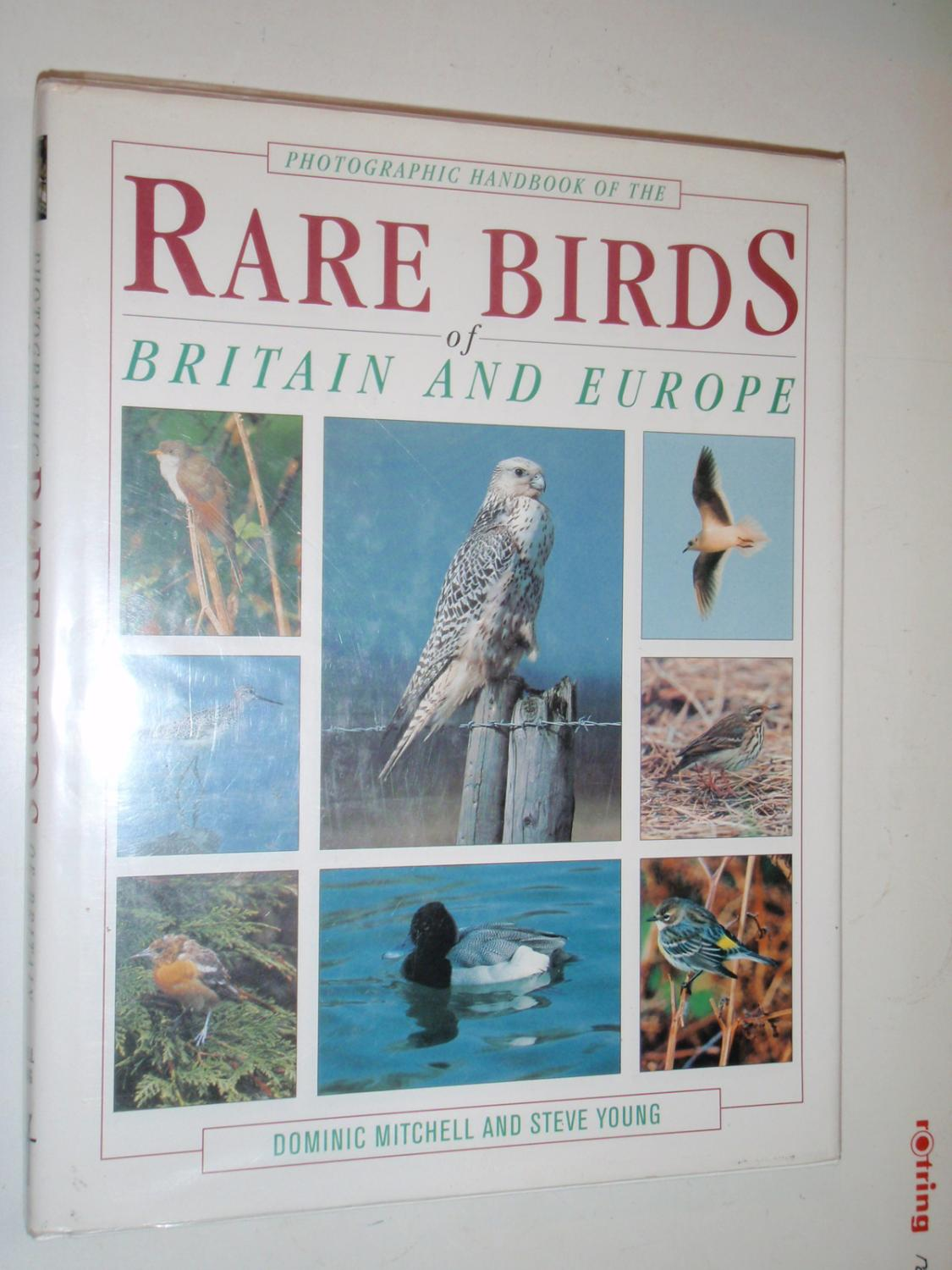 Photographic Handbook to the Rare Birds of Britain and Europe - Mitchell, Dominic; Young, Steve