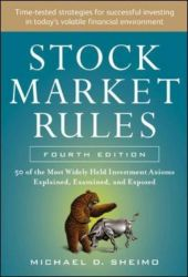 Stock Market Rules - Michael D. Sheimo