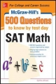 500 SAT Math Questions to Know by Test Day - Cynthia Johnson