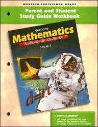 Mathematics Parent and Student Study Guide Workbook: Course 3: Applications and Connections - McGraw-Hill/Glencoe