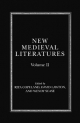 New Medieval Literatures - Wendy Scase; Rita Copeland; David Lawton