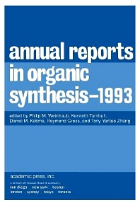 Annual Reports in Organic Synthesis 1993