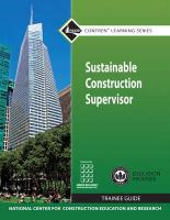 Sustainable Construction Supervisor Trainee Guide