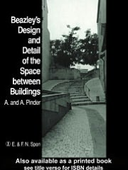 Beazley's Design and Detail of the Space between Buildings - A. Pinder, Alan Pinder, Elisabeth Beazley