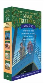 Magic Tree House Volumes 17-20: The Mystery of the Enchanted Dog - Osborne, Mary Pope / Murdocca, Salvatore
