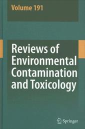 Reviews of Environmental Contamination and Toxicology - Ware, George W. / Whitacre, David M. / Albert, Lilia A.