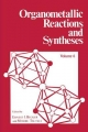 Organometallic Reactions and Synthesis - Ernest I Becker