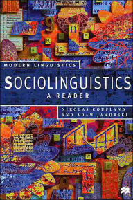 Sociolinguistics: A Reader and Coursebook (Modern Linguistics Series) - Nikolas Coupland