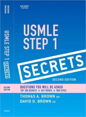 USMLE Step 1 Secrets - Thomas A. Brown, Dave D. Brown