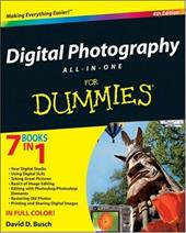 Digital Photography All-In-One for Dummies - Busch, David D.