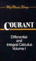 Differential and Integral Calculus (Wiley Classics Library)