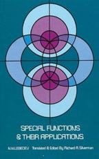 Special Functions and Their Applications - N. N. Lebedev