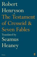 The Testament of Cresseid: &, Seven Fables