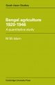 Bengal Agriculture 1920 - 1946 - M. Mufakharul Islam