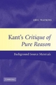Kant's Critique of Pure Reason - Manfred Kuehn