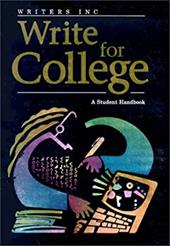 Great Source Write College: Softcover College Handbook - Sebranek, Patrick / Kemper, Dave / Meyer, Verne