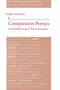 Comparative Poetics: An Intercultural Essay on Theories of Literature - Miner, Earl Roy