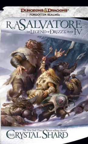 Forgotten Realms: The Crystal Shard (Legend of Drizzt #4) - R.A. Salvatore