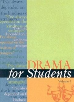 Drama for Students: Presenting Analysis, Context, and Criticism on Commonly Studied Dramas - Herausgeber: Galens, David Dubb, Barbara Spampinato, Lynn