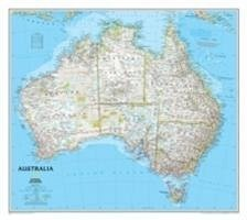 National Geographic Map Australia Classic, Planokarte