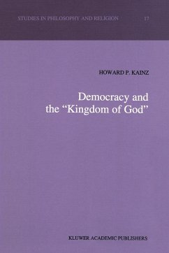 Democracy and the `Kingdom of God'
