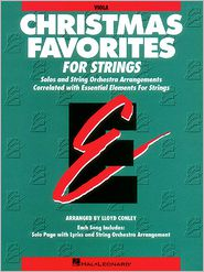 Christmas Favorites - Viola Essential Elements for Strings